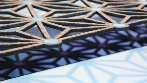 Inspired by Traditional Chinese Lattice Work